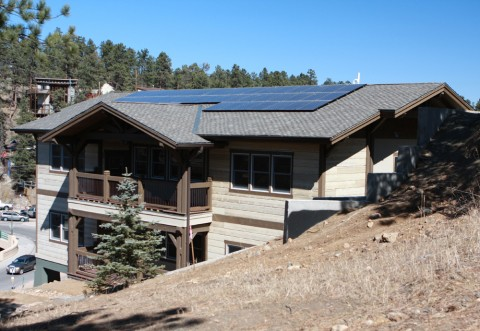 Evergreen Terraces Solar Panels