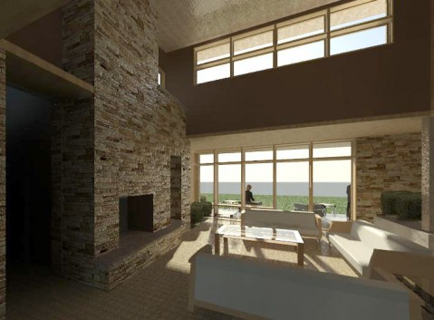 Modern Sustainable Interior From Entry