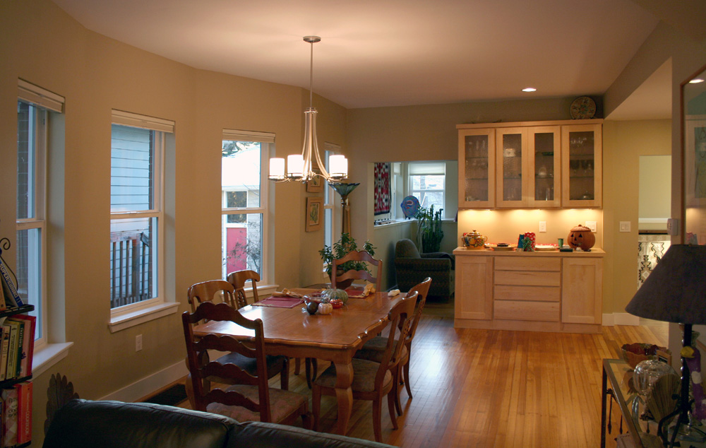 Rawley washington park remodel denver colorado evstudio for Dining room renovation ideas