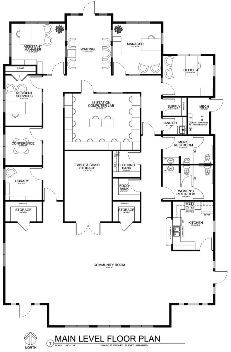 Floorplans for modular buildings, modular construction, see