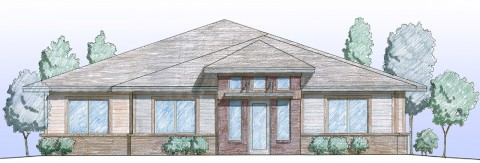 front elevation small