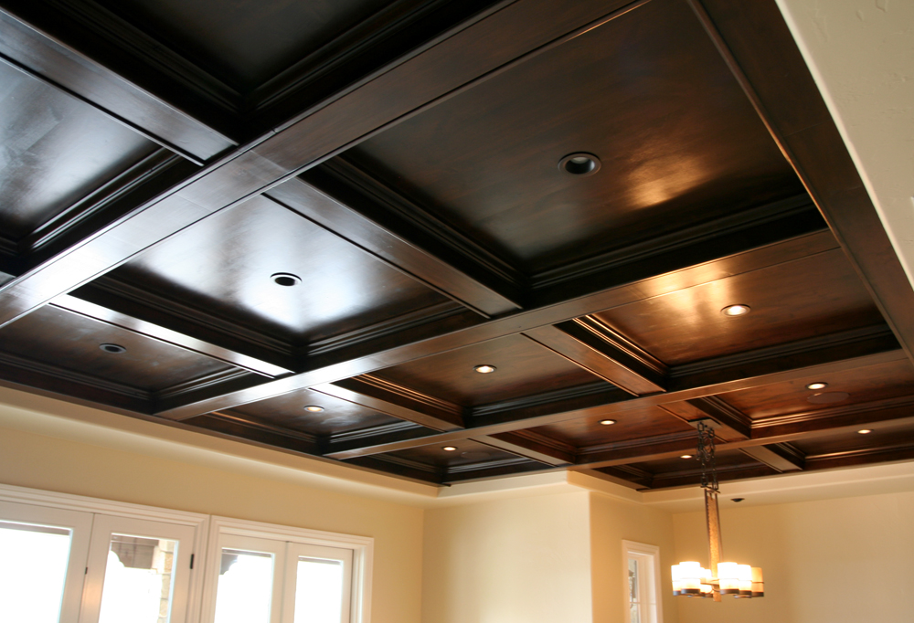 Coffered Wood Ceiling Evstudio Architect Engineer