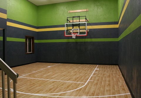 Indoor Sport Court Basketball