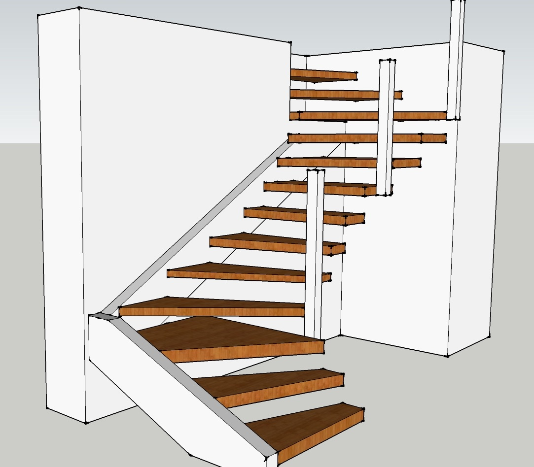 Diagram floating stairs 23 wiring diagram images Floating stairs