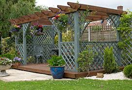 This or that 4 trellis vs pergola evstudio architect engineer denver evergreen colorado - How to build a grape vine support the natural roof ...