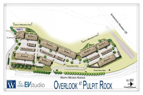 Colorado springs multi family project images evstudio for Site plan rendering software