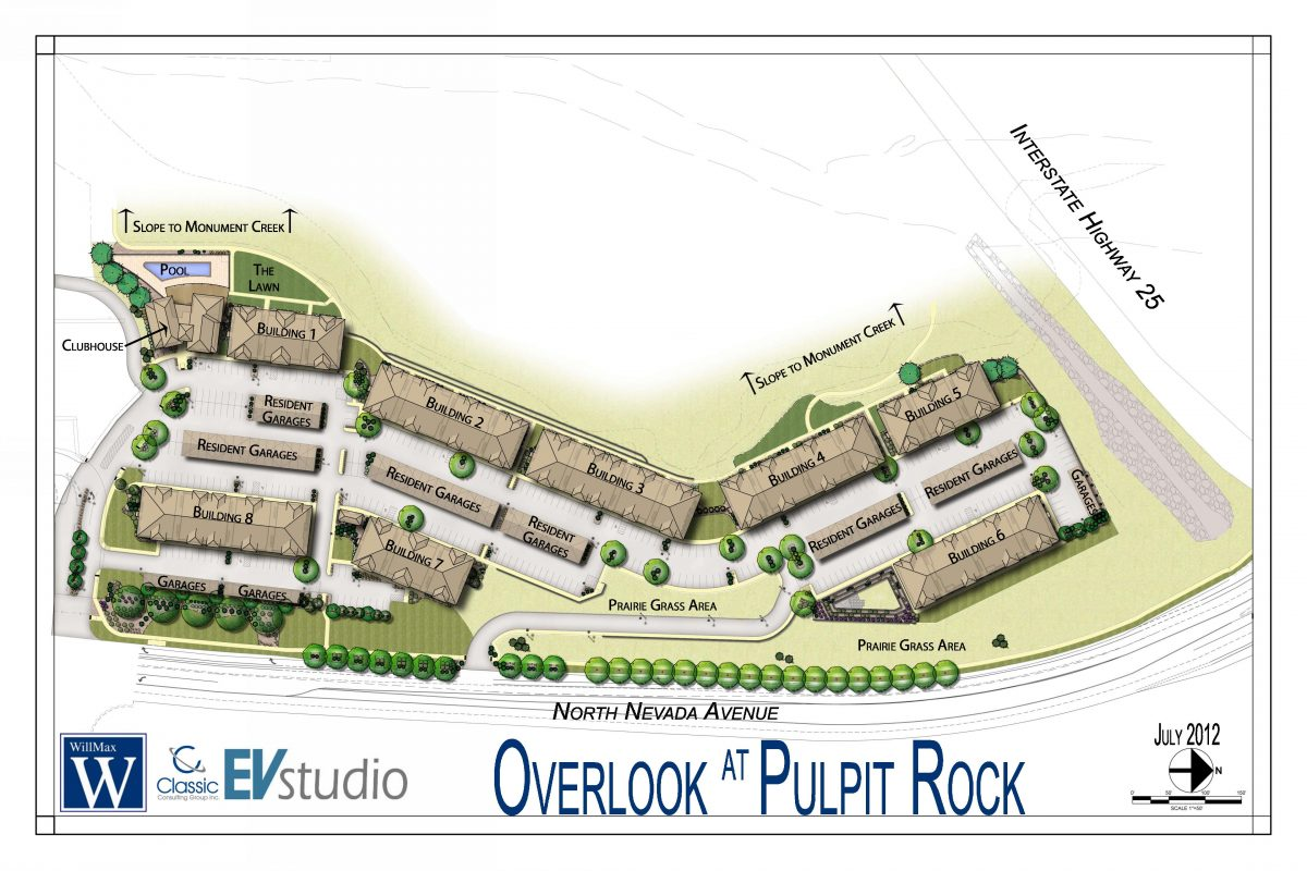 Colorado Springs Multifamily project images EVstudio Architect – Site Plan Rendering Software