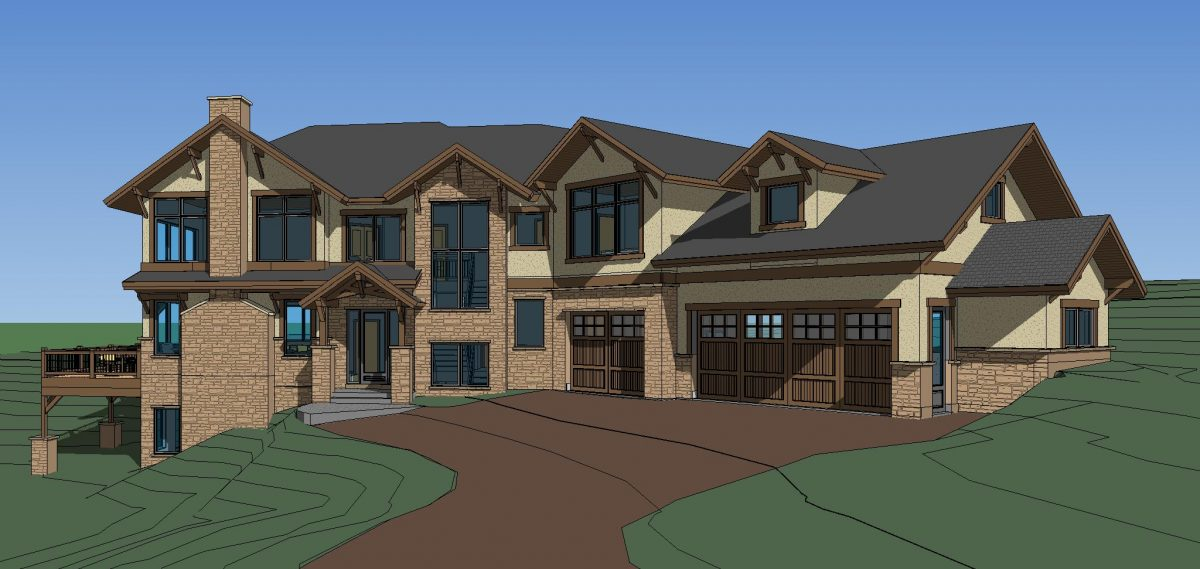 Elk Meadow Estates Custom Home Plans Completed