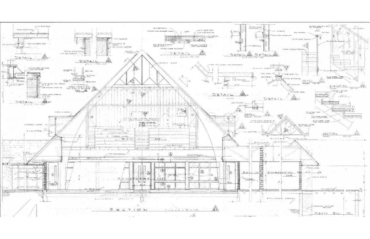 Vintage and Modern Architectural Drawings