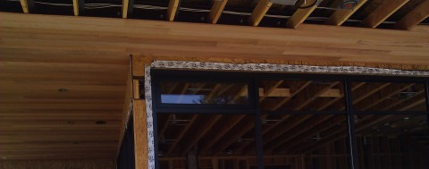 mountain modern custom mahagony soffit