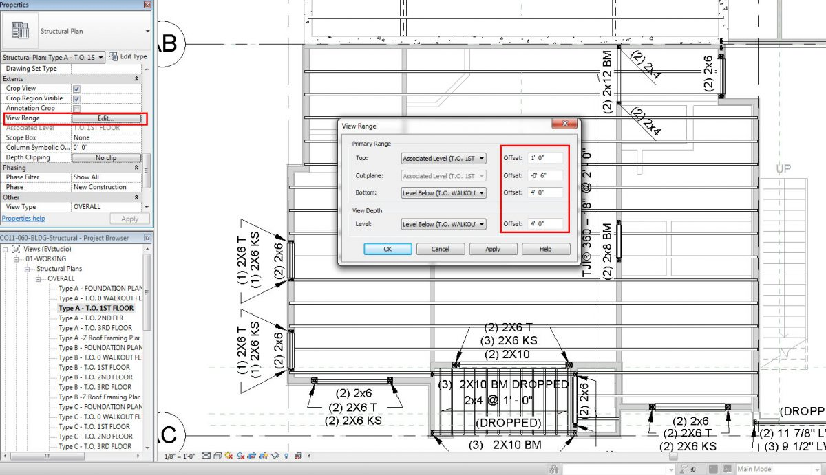 Adding new floor plans in revit for Floor plans you can edit