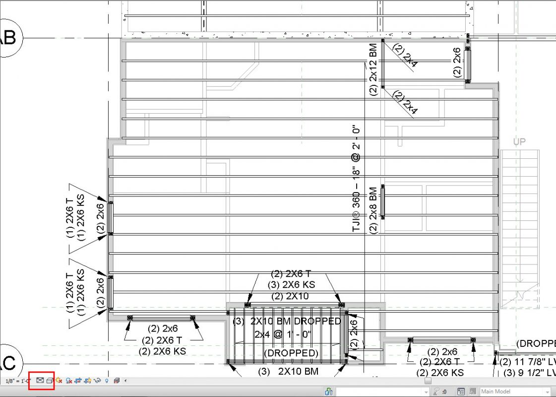Filters in revit for structural framing plans evstudio for Floor framing plan