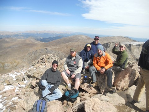 On Top of Bierstadt
