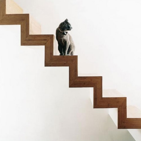 pretty-and-cool-floating-staircase