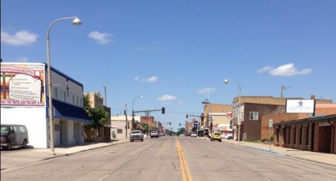 Downtown Williston