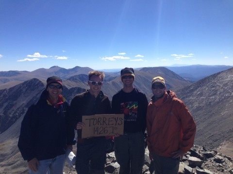 EV Torreys summit