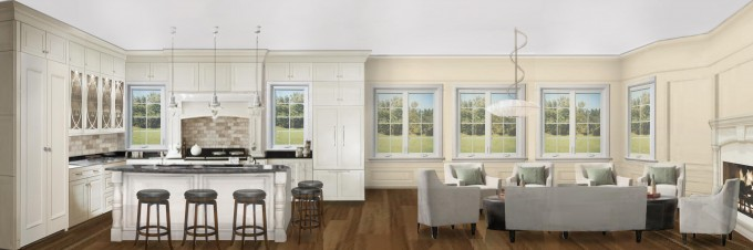 Olive Kitchen Rendering