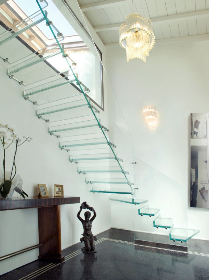 Structural Glass Floors And Stairs Evstudio Architect