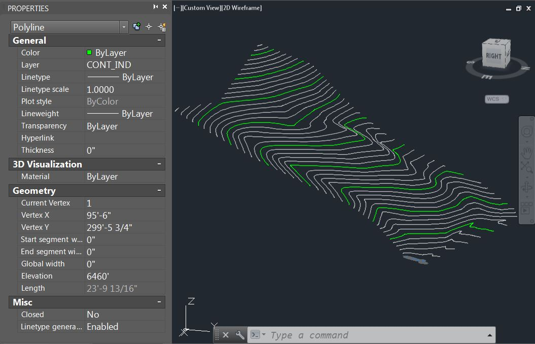 Contour Line Drawing Autocad : Revit tutorial importing topography — evstudio architect