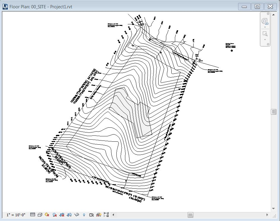 Drawing Lines In Revit : Revit tutorial importing topography — evstudio architect