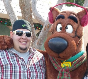 Alex and Scooby