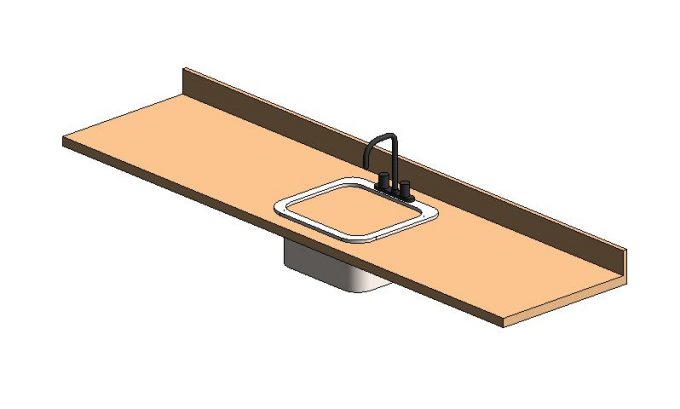 Solving the Revit Countertop and Sink Hole Conundrum ? EVstudio ...