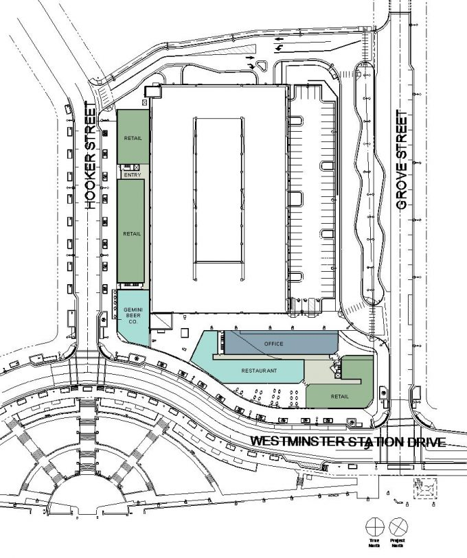 Westminster Station Site Plan