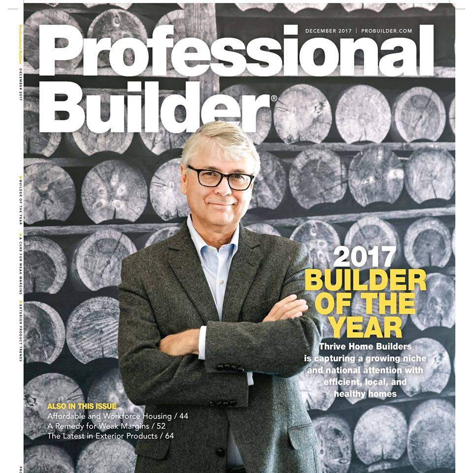 Evstudio and the 2017 home builder of the year evstudio for Home building magazines
