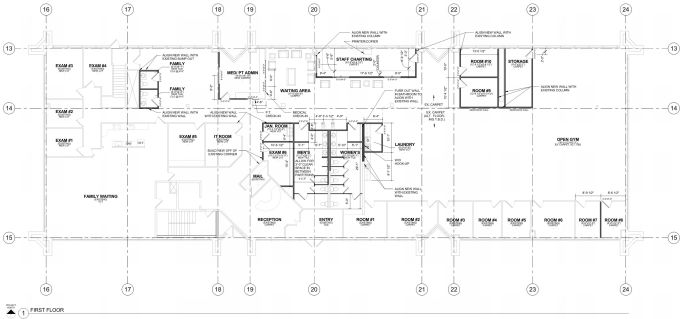EVstudio Opioid Treatment Center floor plan 1