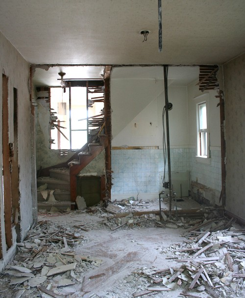 gutting demolition washington park