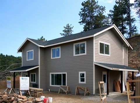 Habitat Blue Spruce Exterior Complete