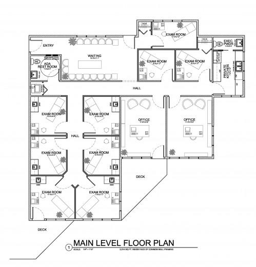 Southview Office Condominium Floor Plan