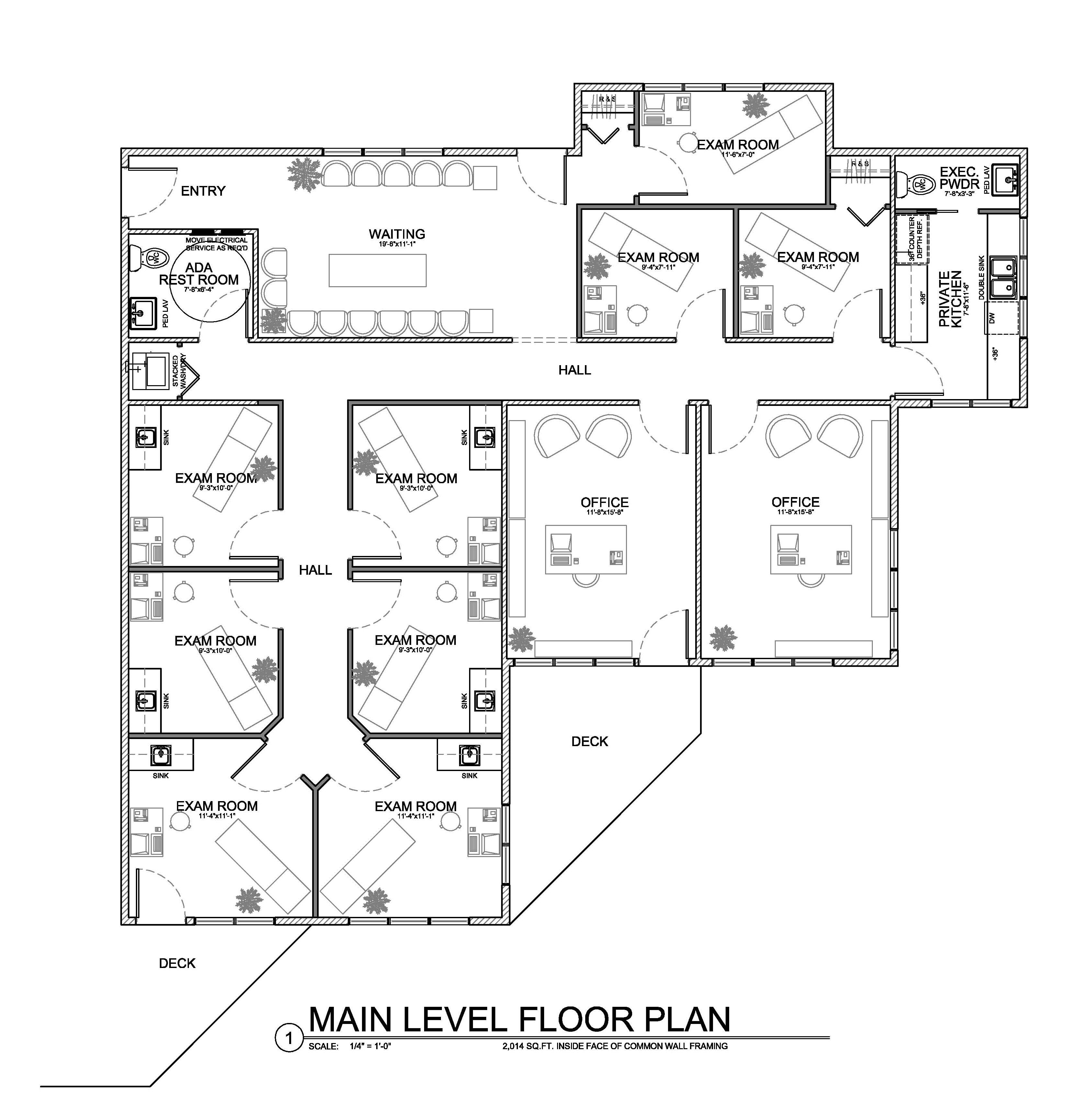 Floor Plan For Small Medical Office Evstudio