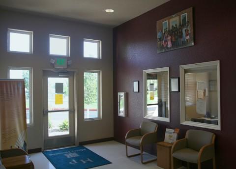lobby community center