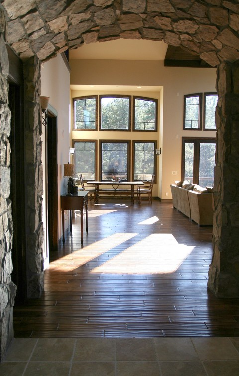 Stone Arch in Home