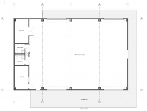 Weight Room Floor Plan