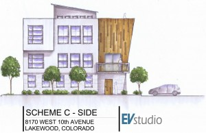 Planning Architecture Multifamily Render
