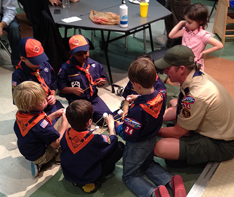 Cub Scout Marshmallows