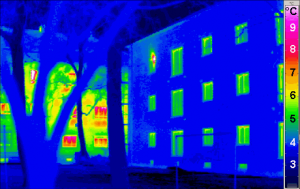 Architecture Passivhaus Thermogram