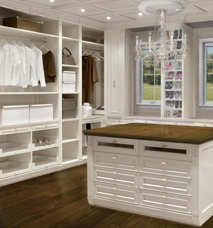 Women's Closet Rendering