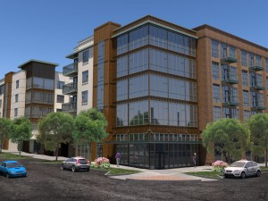 Architecture Engineering Multifamily Render