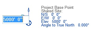 04 Specify Project Base Point Coordinatesb