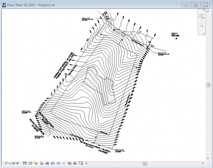 03_Imported CAD in Revit