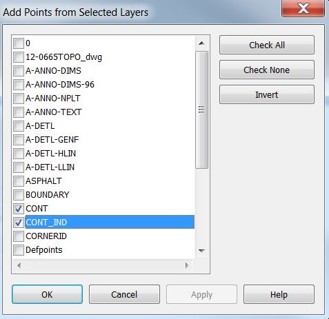 05_Select Layers Menu