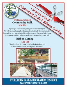 Evergreen Park Recreation District Lake House Trail