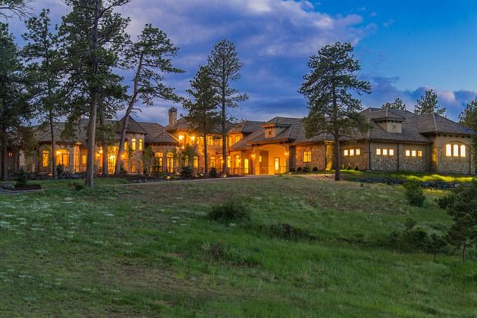 Sustainable Luxury Home Exterior Night