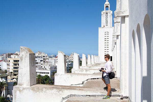 Casablanca Cathedral, Ben Feicht