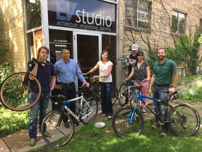 EVstudio Bike To Work Day 2015