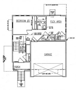 Architecture Residential Small Floor Plan