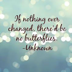 Change - Butterflies